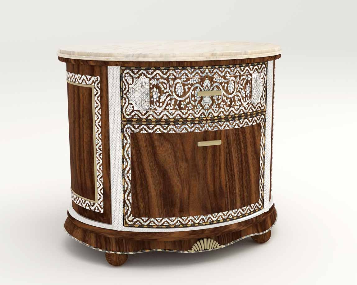 El Real Blanco Nightstand